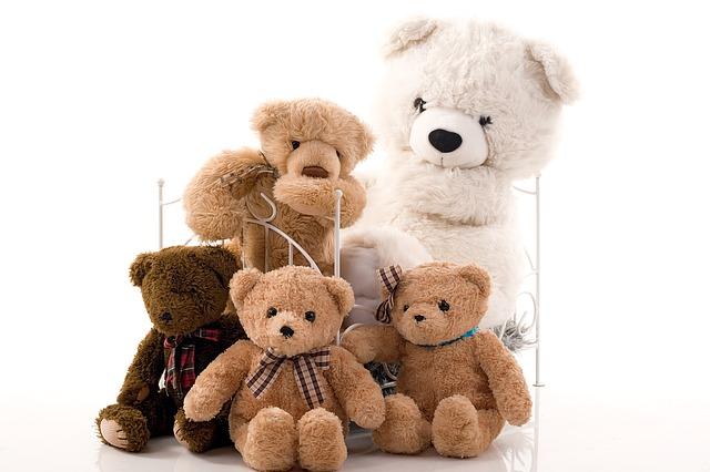 plyšový medvědi