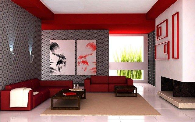 moderní obývák