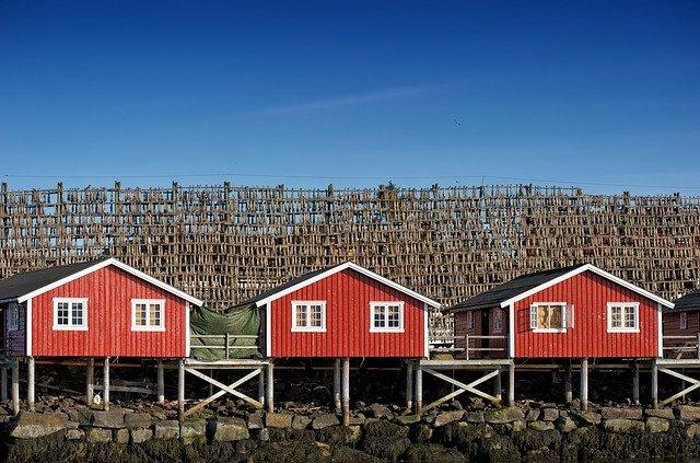 norské domky