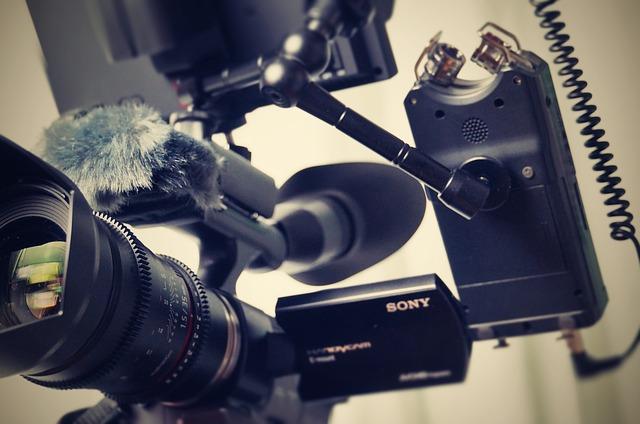 profesionální kamera Sony