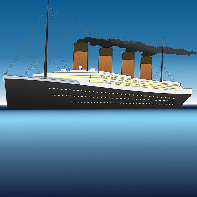 parník Titanik