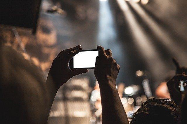 natáčení koncertu