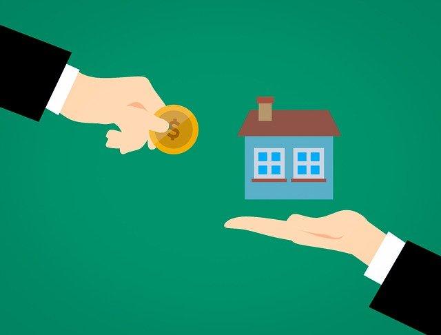 platba za dům