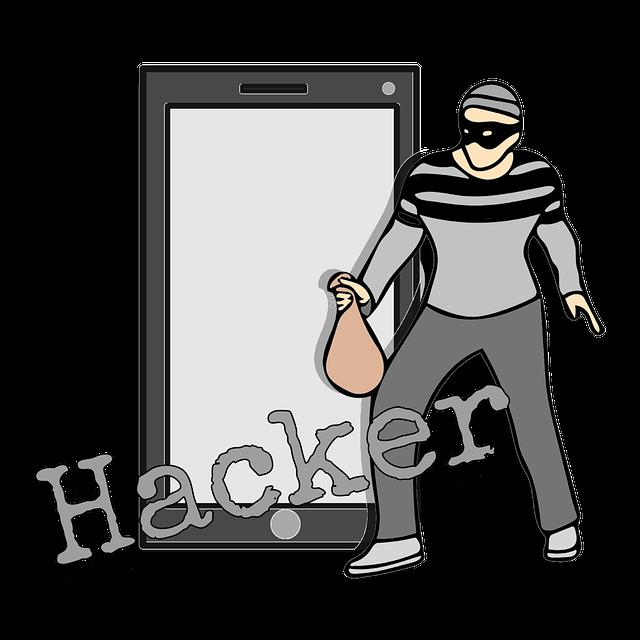 maskovaný hacker