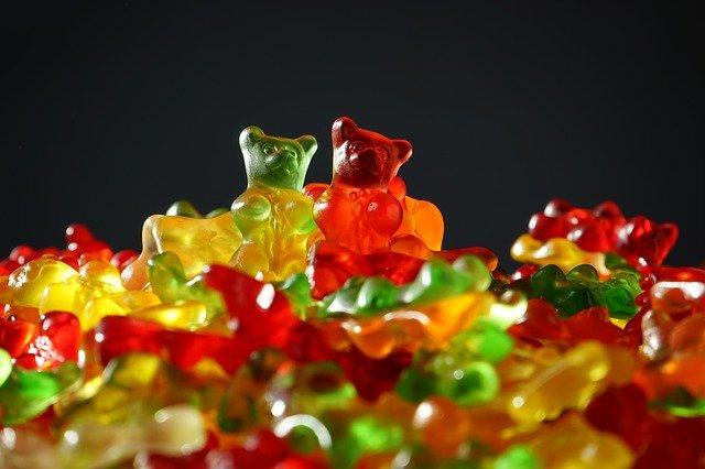 bonbony medvídci