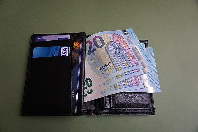 80 euro a peněženka