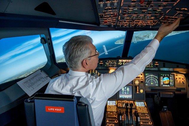 Přípravy na přistání v New Yorku