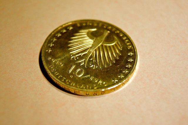 zlatá euromince