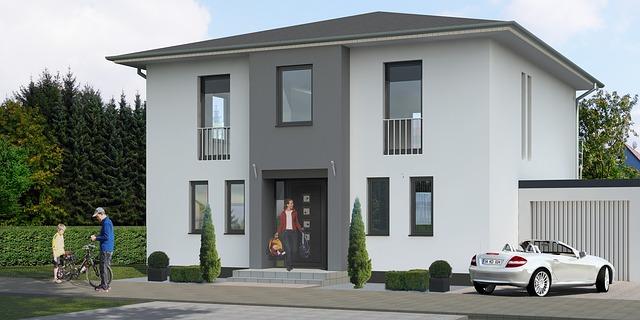 rodinný dům s moderní garáží