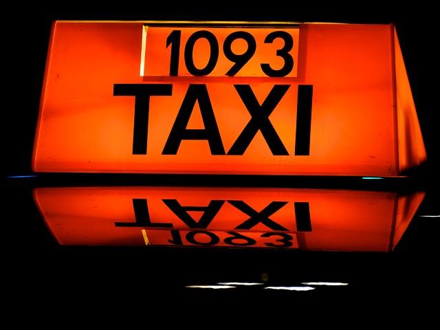 označení taxi